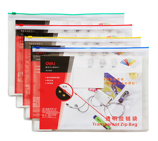 Durable Waterproof Zipper Book A4 Paper File Folder Bag Accordion Style Design Document Rectangle Office Home School