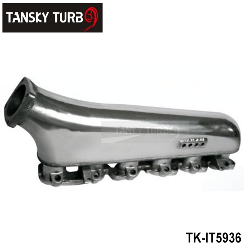 TANSKY - For TOYOTA LAND CRUSIER 4.5L Cast Aluminum Turbo Intake Manifold Polished JDM high Performance TK-IT5936