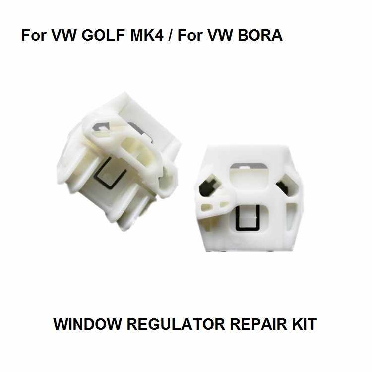 VENSTER REGULATOR COMPLETE KIT SET Voor VW MK4 GOLF BORA VENSTER REGULATOR REPARATIE KIT FRONT-RIGHT VENSTER REGULATPR CLIP 1997-2006