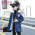 Warm Children Clothing Winter Jacket for Girls,Plus Velvet Girl Long Coat,Winter Jackets for Teenage Girls,Kids Hooded Clothing