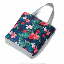 ShoppingBag Casual Canvas Tote Handbag Women Shoulder Bag Cartoon Fruit Printed Ladies Female Bag Shopping Bag Sac a main baobao