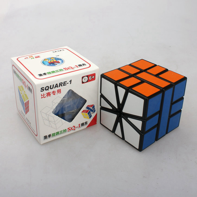Brand New Shengshou 57mm Plastic Speed Puzzle SQ1 Square-1 Square 1 Magic Cube Educational Toys For Children Kids