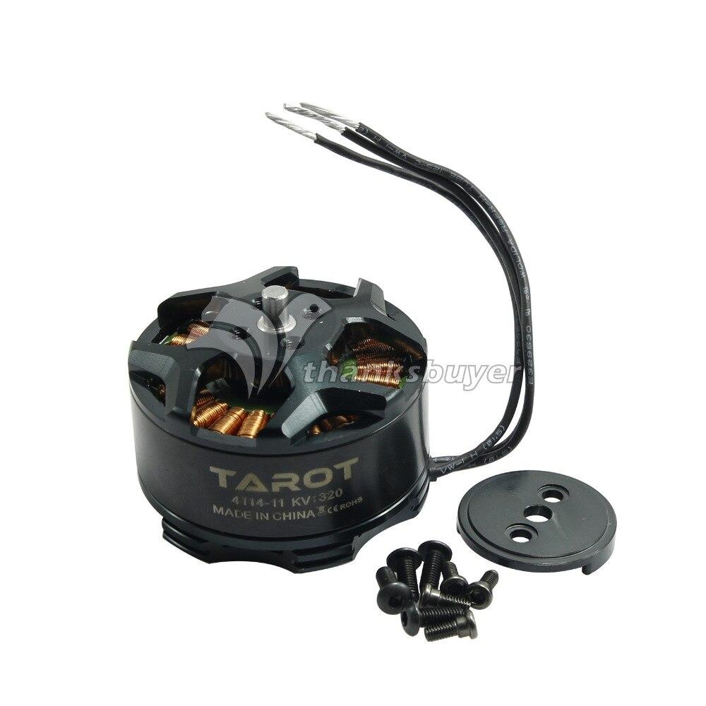 Tarot 4114 320KV Outrunner Brushless Motor for Multicopter Tarot Hexacopter TL100B08 01 Black
