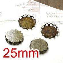 dardanel tone fillet 125 g free shipping Free shipping!!! Bronze Tone Cabochon Frame Settings 25mm