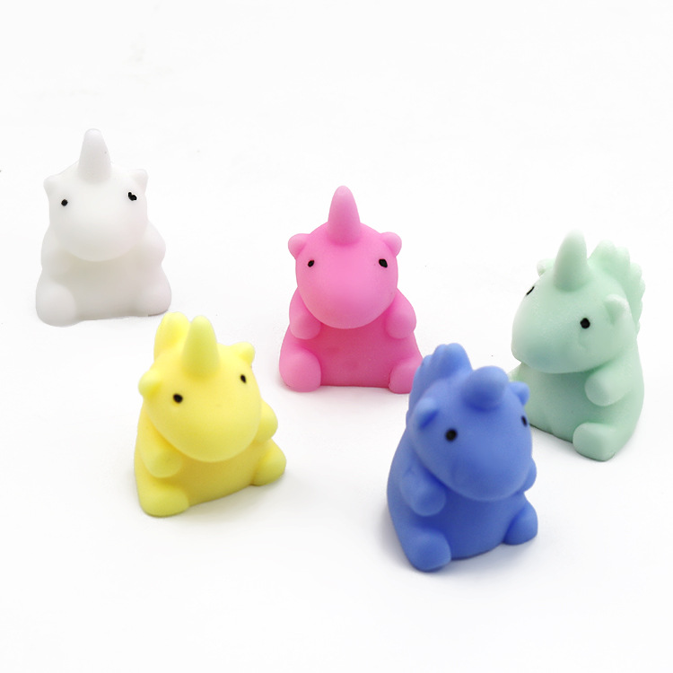 Mochi Mini Soft Cute Unicorn Squishy Squeeze Fun Healing Toy Kids Toy Decor Lovely Slow Rising Unicorn Anti Stress Relieve Toy