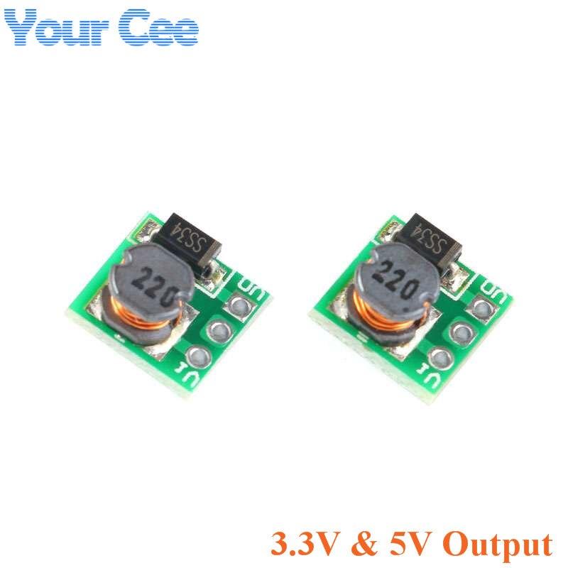 DC-DC 0.9-3.3V to 3.3V 500mA 0.9-5V to 5V Mini Step Up Boost Power Module DC to DC For Arduino Voltage Converter Module
