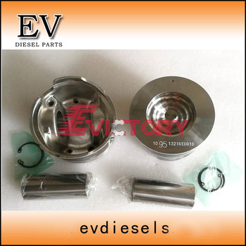 For Hino Bus N04C N04CT piston include piston pin and piston clip