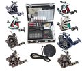 Professional Complete Tattoo Kit Tattoo Starter Set Body Art  kit 8 Machines TK014 F5ee Shipping By EMS