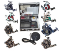 Profissional Kit Tattoo completa Tattoo Starter Set Body Art Kit 8 Machines TK014 F5ee envio por EMS