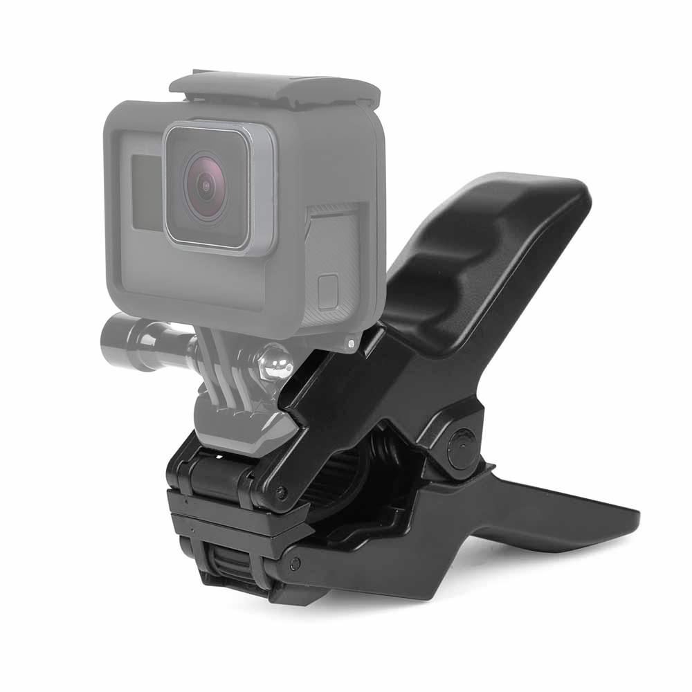 SHOOT Portable Jaws Flex Clamp For Gopro Hero 6 5 4 Session 3 SJCAM SJ4000 Xiaomi