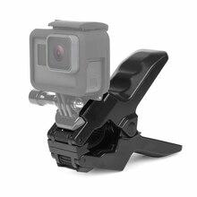 Снимать Портативный Челюсти Flex-зажим для GoPro Hero 6 5 4 сеанса 3 SJCAM SJ4000 Xiaomi Yi 4 К Камера крепление Go Pro Интимные аксессуары