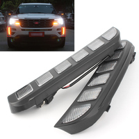 For Ford Explorer 2016 2017 16 17 ABS Car LED DRL Daytime Running Lights Signal Lamp Light Auto Parts Accessories