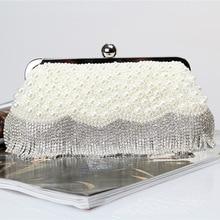 ONEFUL new women evening hanbag simulated diamonds pearl handbag casual night club evning party