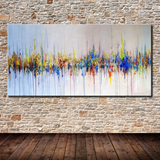 handgemalte poster wandkunst leinwand lgemlde moderne abstrakte gemlde wandbilder fr wohnzimmer wand dekor beste geschenk - Beste Wohnzimmer Wandkunst