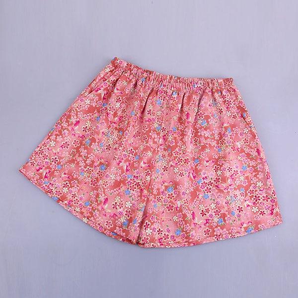 UNIKIWI. Милые летние хлопковые Пижамные шорты для сна, женские свободные пижамные штаны с эластичной резинкой на талии размера плюс M-XL отдыха. 21 цвет - Цвет: 016