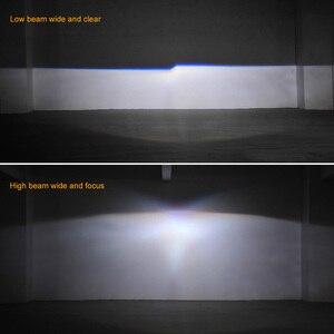 Image 5 - Retrofit Mini 2.5 inch HID Bixenon Projector Headlight Lens Automobiles Headlamp Lenses Kit+ Silver Shrouds H1 H4 H7 Car Styling