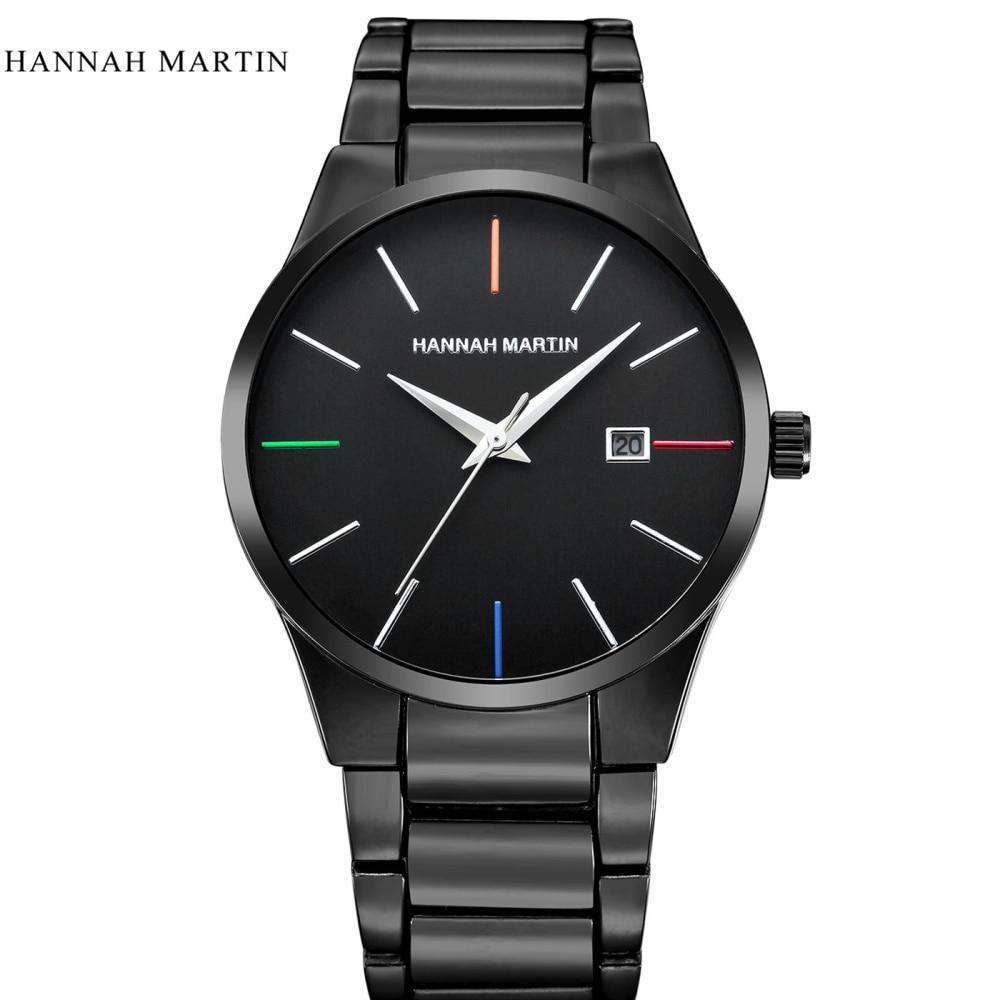 Hannah Martin Marca Top Hombres de negocios Hombre Reloj de lujo - Relojes para hombres - foto 5