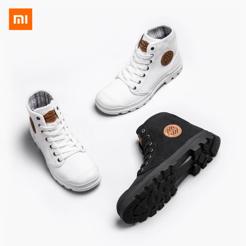 Xiaomi GOODYEAR sneakers wear resistant work shoes fine lines male woman high top sneakers liberation shoes