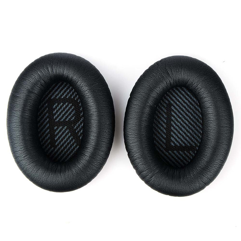 1 Pair Headphone Cushion Pads Cover Headphones Replacement Earpads Ear Pads For QuietComfort 35 QC35 QC 35 25 15 QC25 QC15