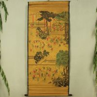 Exquisite Chinese Antique collection Imitation ancient Hundred subgraph Picture