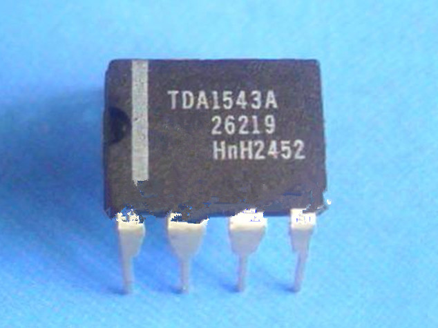 10pcs TDA1543 Dual 16-bit DAC Chip DIP-8 NEW GOOD QUALITY
