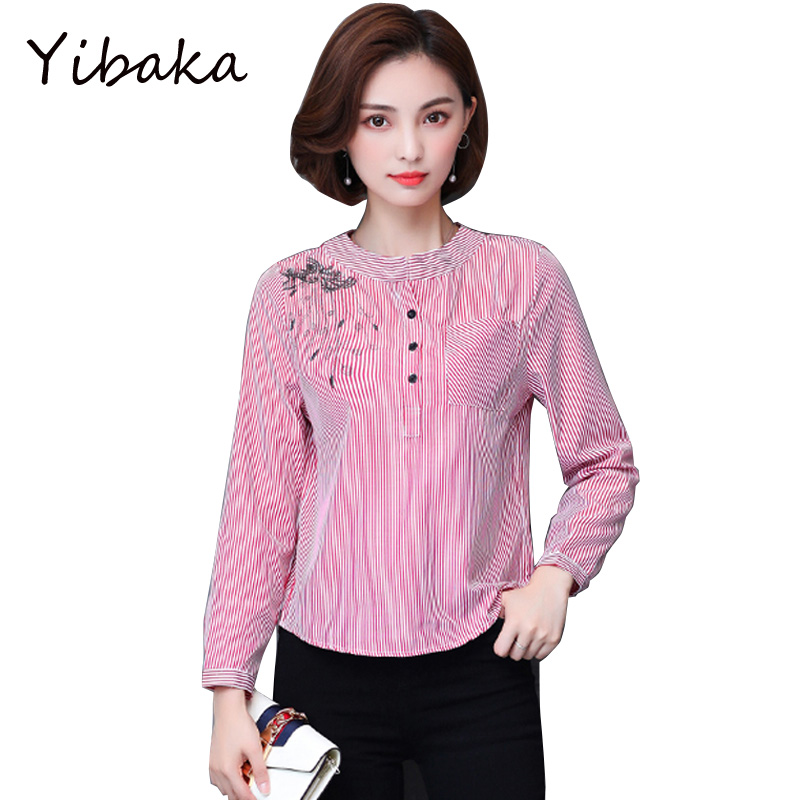 Вышивка на рукаве женская рубашка