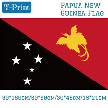 Free shipping Papua New Guinea National Flag 60x90cm 90x150cm 30*45cm 15*21cm 3x5ft Hanging