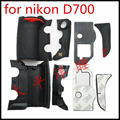 NEW A Set of 4 Pieces Grip Rubber Cover Unit For Nikon D700 Digital Camera Body Rubber Shell + Tape