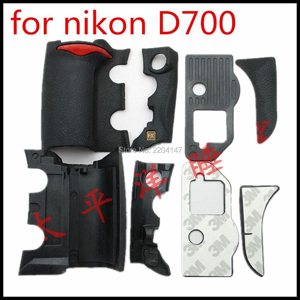 NEW A Set of 4 Pieces Grip Rubber Cover Unit For Nikon D700 font b Digital