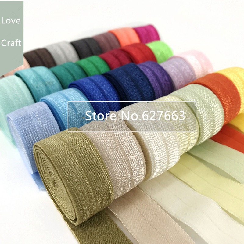 1.5cm Folding Edging Elastic Band Elastic Edging Strips Hair Styling Elastic Band Clothes Accessories