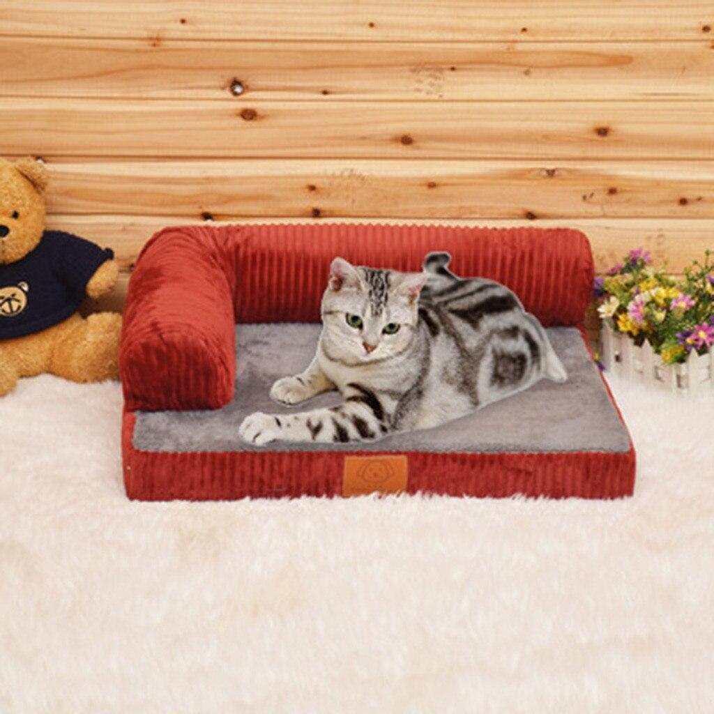 Livraison directe mignon chien maison Pet lit canapé chat chenil intérieur chiot tapis grotte Pet fournitures nouveau