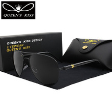 Queens поцелуй Классический бренд поляризованные солнцезащитные очки мода HD блики мужские и женские солнцезащитные очки высокое качество для вождения авиации солнцезащитные очки