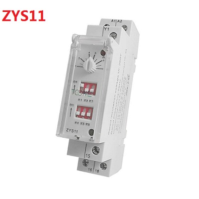ZYS11 250V 3A 0.6s-100h DIN Rail Auto Timer Delay on/off Switch casio mcw 100h 3a