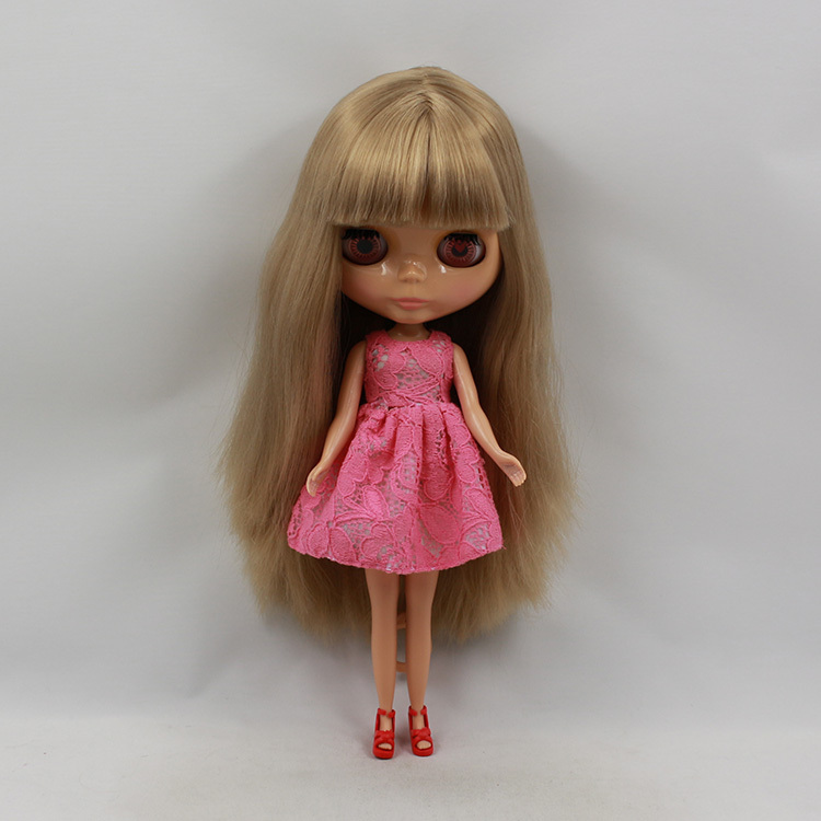 Factory blyth doll tan skin 230BL9031 with bangs Golden Hair 1/6 30cm-in Dolls from Toys & Hobbies    1