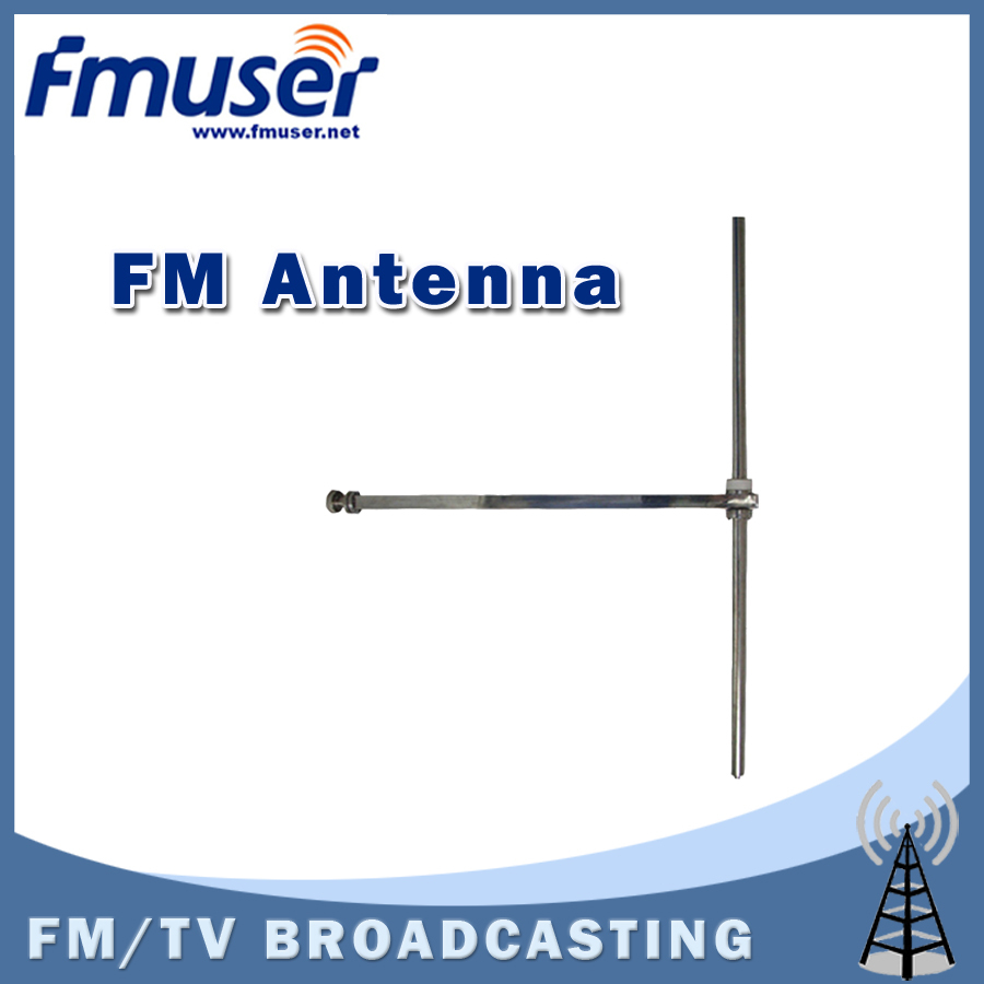 Free shipping FMUSER FM-DV1 1 bay FM dipole antenna for professional FM transmitter from 50w to 1000w free shipping fmuser st 05c 0 1w 0 5w fm transmitter antenna power supply kit