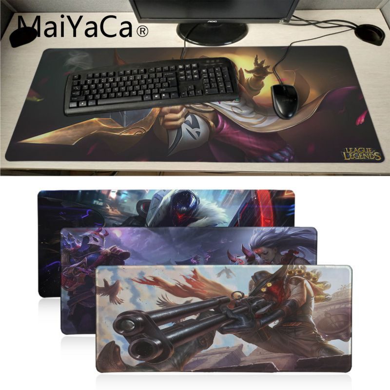 Computer Peripherals Mouse Pads Learned Maiyaca New Design Chair Computer Gaming Mousemats Size For 18x22cm 25x29cm Rubber Rectangle Mousemats