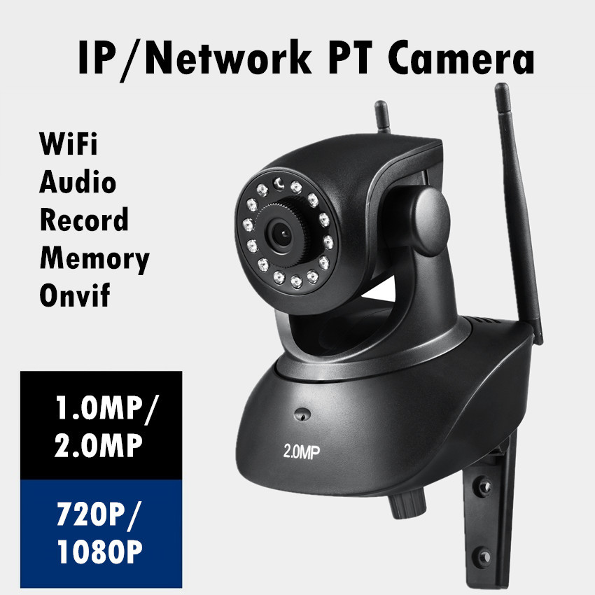 High Quality HD lens 720P/1080P Wireless IP Camera Wifi Night Vision Network CCTV P2P Onvif recorder Micro SD card TF 2 0mp for parking lot toll station toll gate cctv license plate capture lpr ip camera 1080p 8mm lens night vision 30m