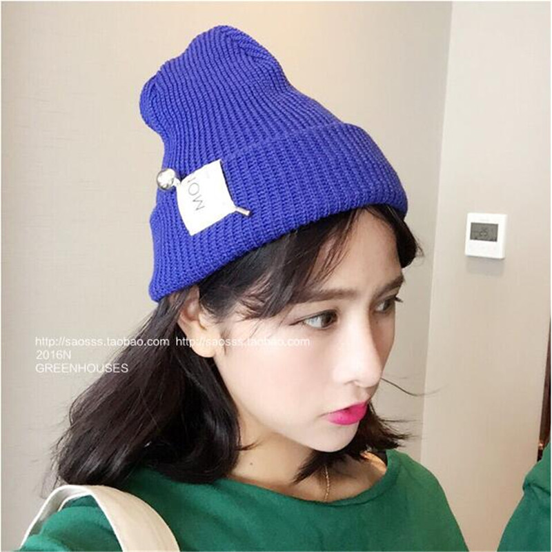 XUYIJUN Brand Beanies Knit woman's Winter Hat Caps Skullies Bonnet Winter Hats For  Women Beanie Fur Warm Ball pin Knitted Hat brand beanies knit men s winter hat caps skullies bonnet homme winter hats for men women beanie warm knitted hat gorros mujer