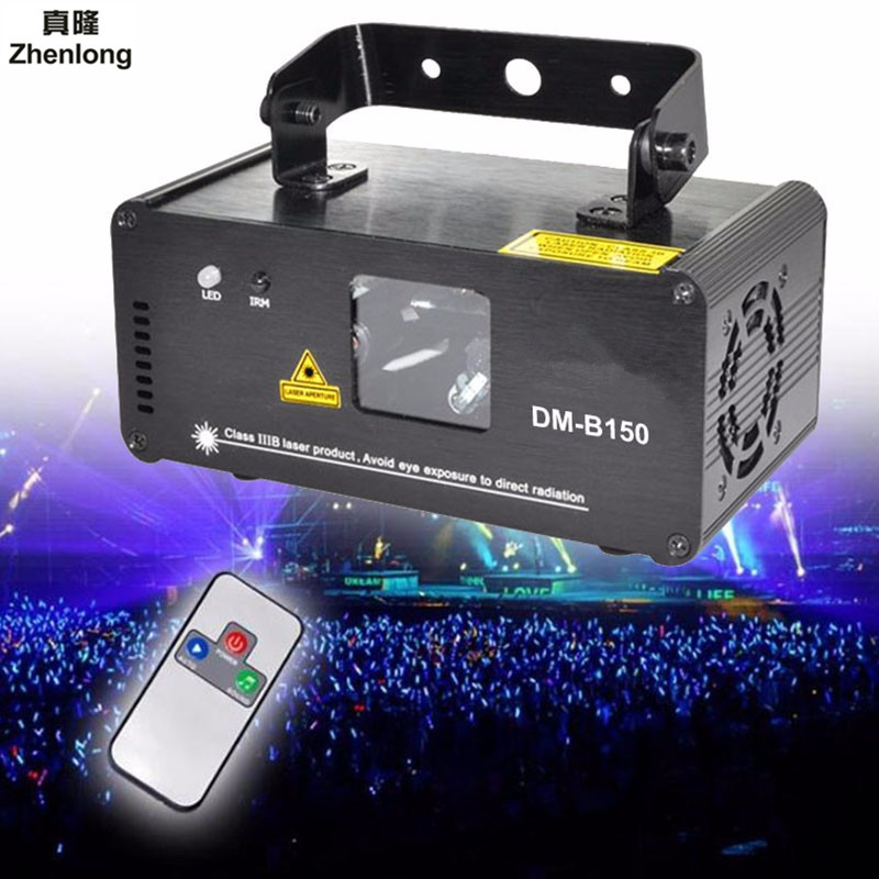 Remote DMX512 150mw Blue Laser effect Scanner DJ Disco Beam Stage Lighting Effect Blue Laser Projector illumination Show Light ожерелье bride makeup frontlet