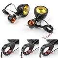Sale da motocicleta 39 41 49 mm nevoeiro Turn Signal H3 lâmpada garfos grampo para Harley Dyna Sportster Chopper Bobber