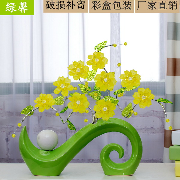 Superior Lovely Green Ornaments For Living Room Part   7: Creative Home Decorations Ornaments  Living Room Part 5