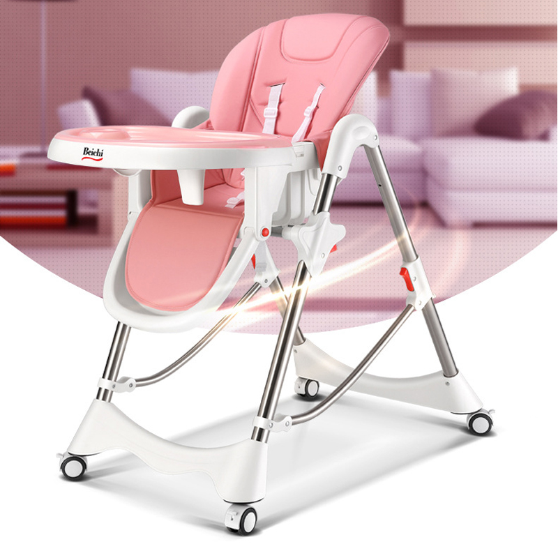 Baby Dining Chair Portable Multi-functional Foldable Children Dining Chair