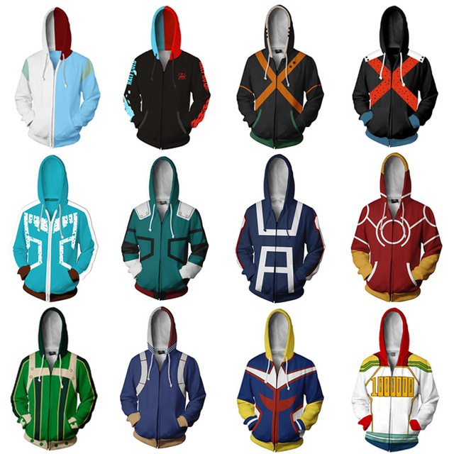 Trendy My Hero Academia Hoodie Top Quality