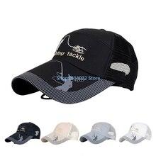 54d8c34bed8 Summer Golf Baseball Mesh Cap Adjustable Sports Sun Visor Hat Unisex fishing  Cap M08(China
