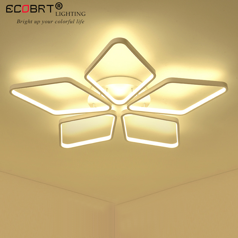 ECOBRT Modern Acrylic led ceiling lights for living room bedroom dining room home ceiling lamp lighting light fixturesECOBRT Modern Acrylic led ceiling lights for living room bedroom dining room home ceiling lamp lighting light fixtures
