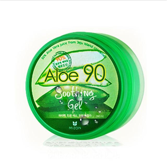 Mizon Aloe 90 soothing Gel - 200ml Original Korea Face Cream Soothing Moisturizing Whitening Acne Treatment Relieve Facial Cream