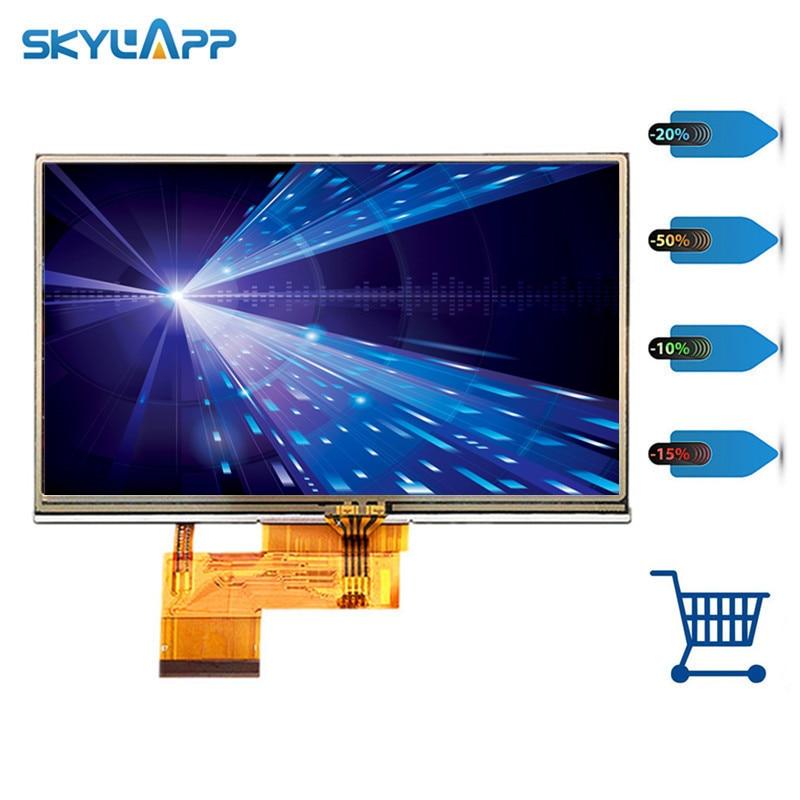 Skylarpu 4.3 inch LCD screen for GARMIN Zumo 340 CE Lifetime GPS LCD display Screen with Touch screen digitizer Free shipping