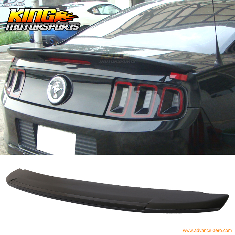 For 10-14 Ford Mustang Shelby GT500 Style Trunk Spoiler - Unpainted ABS revell набор автомобиль shelby mustang gt 350 h 1к24