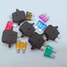YX701 NEW Insurance Automotive Blade auto Fuse holder medium fuse holder fuse dedicated piece 20pieces P0010 цена