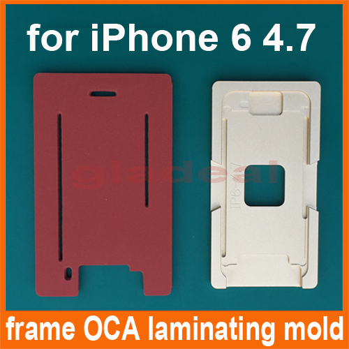 Aluminium Mould Glass Frame Mold for iPhone 6 4.7 LCD Touch Screen Separator OCA Laminating Display Repair Refubish Machine Tool 15ml b7000 multipurpose adhesive diy tool jewelry rhinestones fix touch screen phone middle frame housing glass tube glue b 7000